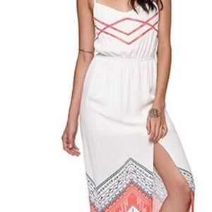 Kendall $ Kylie Sleeveless Maxi Dress Slit
